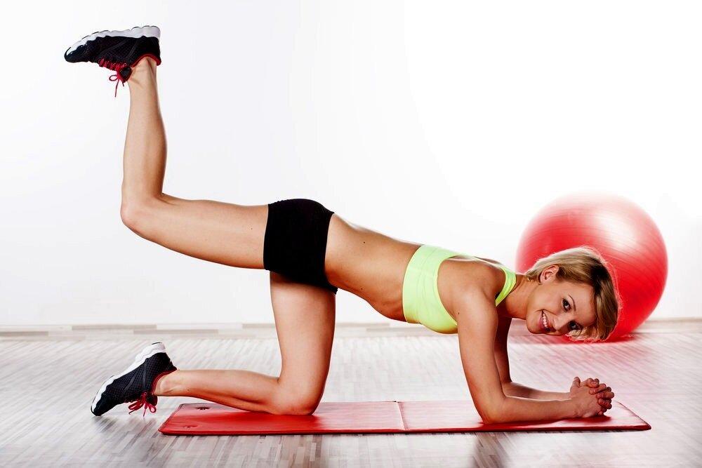 Качаем попу в домашних условиях: 3 лучших упражнения для девушек | MyFitness | Яндекс Дзен